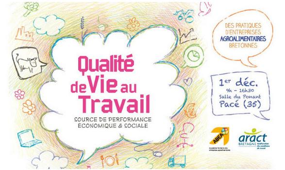 Colloque que Qualité de vie au Travail, le 1er décembre à Rennes